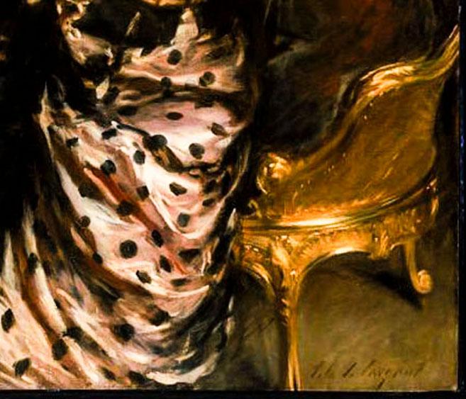 John S. Sargent close up of