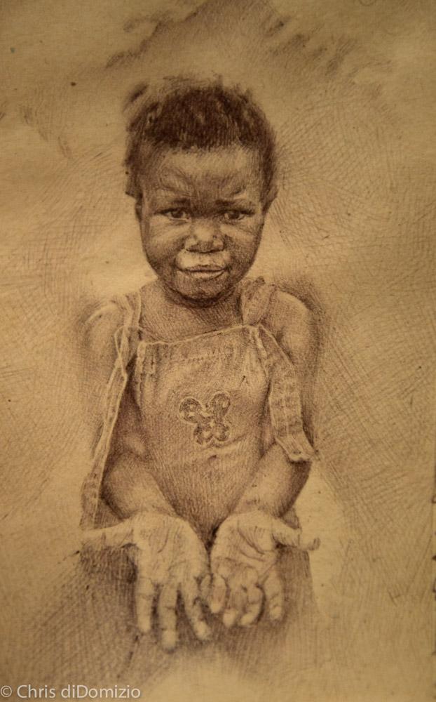 Dylan Scott Pierce original ink drawing