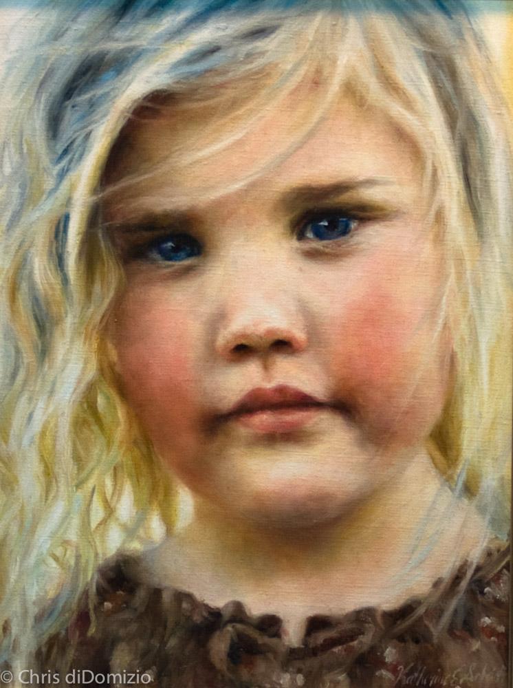 Katheryn Shuber original oil painting commision