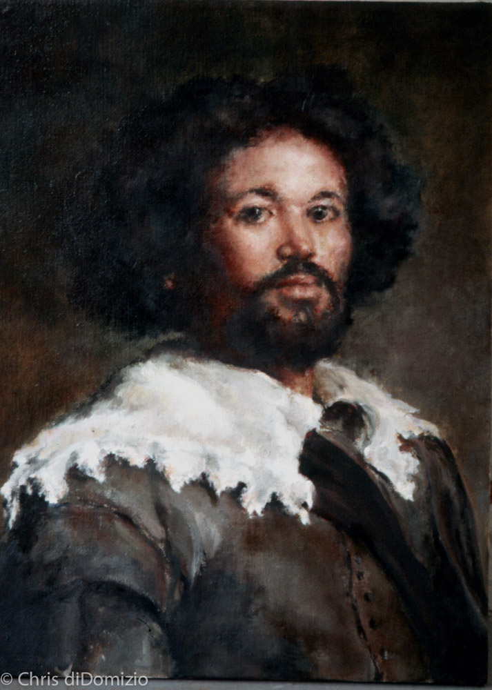 Kay Robb oil painting after Velasquez