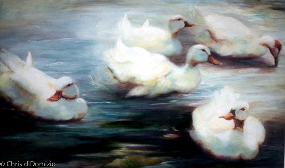 Miariam Hobbs oil painting